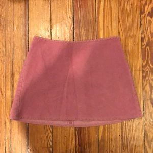 United Colors of Benetton Pink Corduroy Skirt